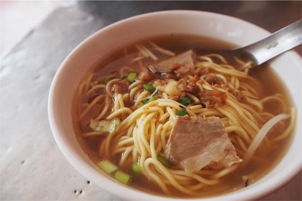 瀬川水餃の麺その②