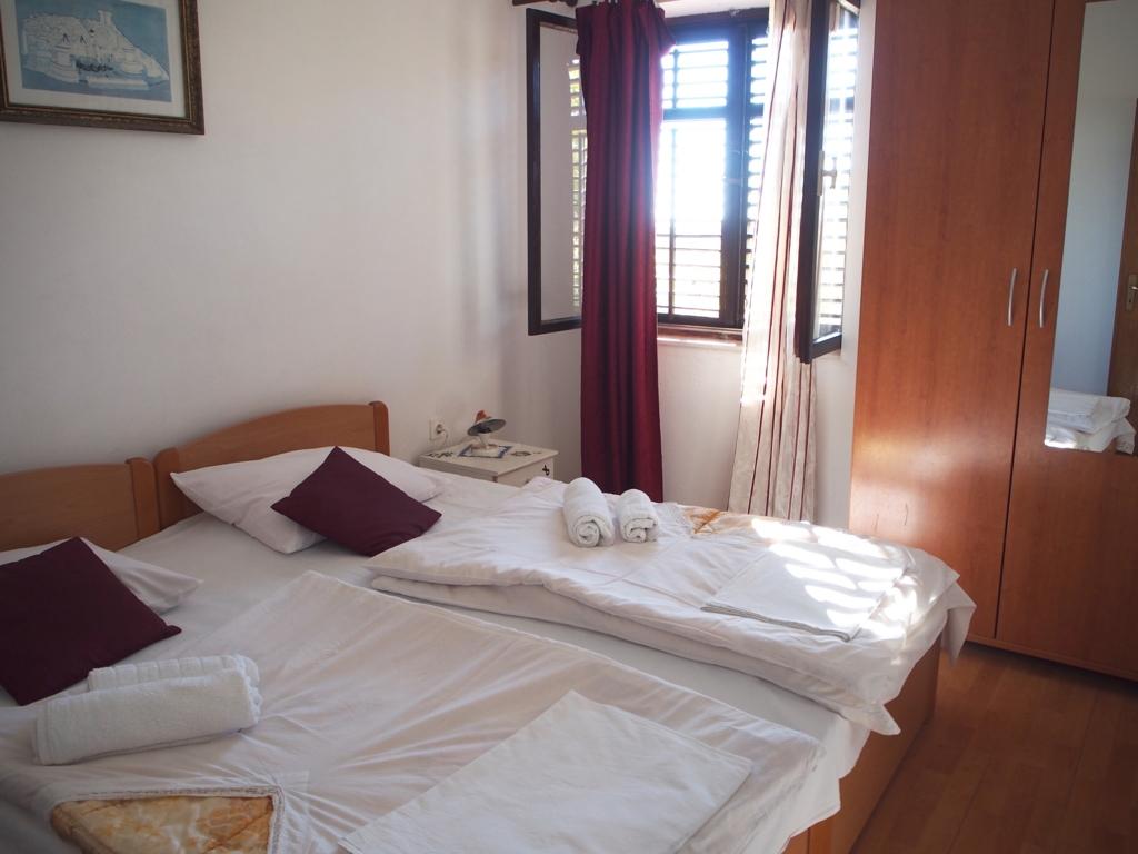 ドブロブニク 宿 寝室