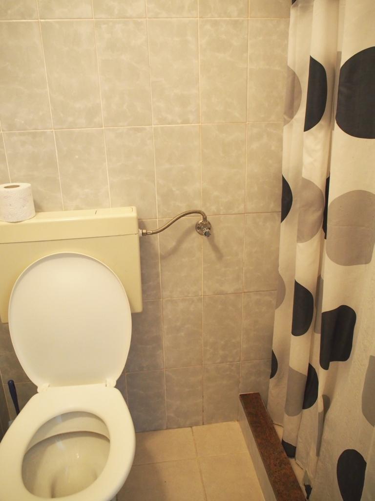 ドブロブニク 宿 トイレ シャワー