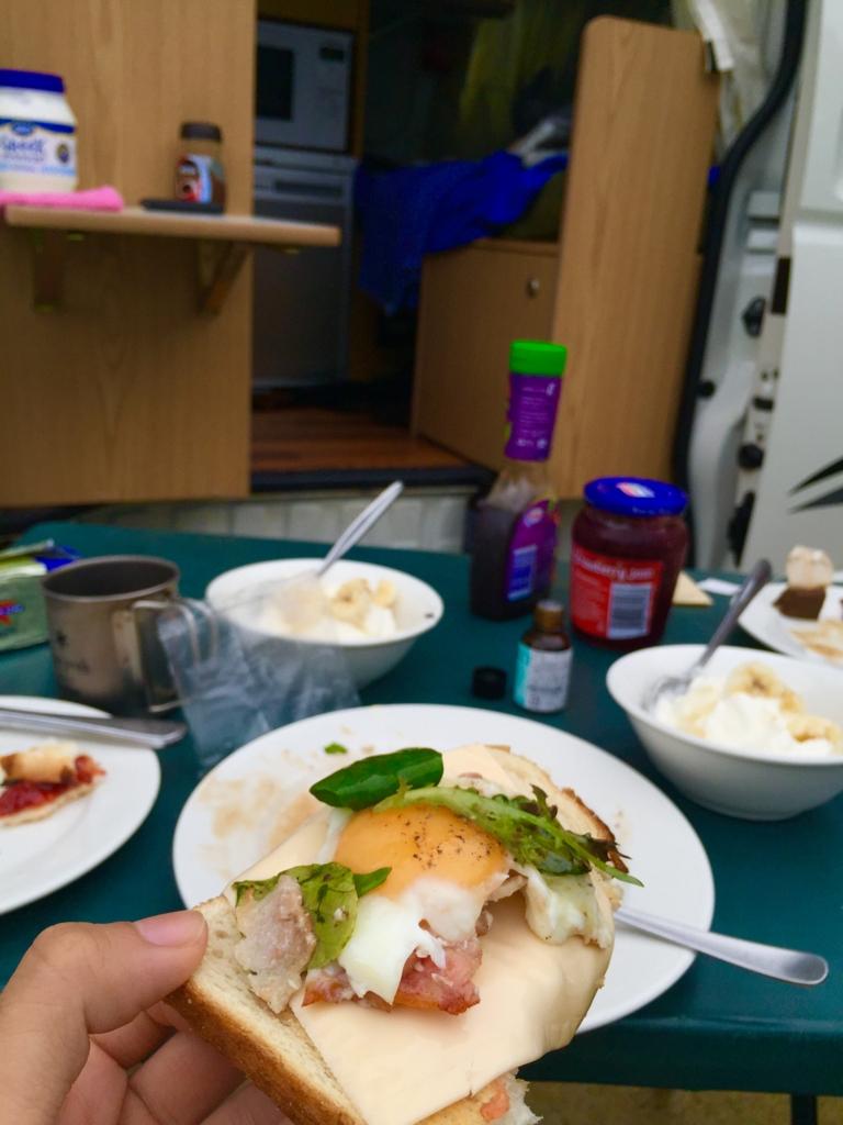 朝食の定番ラピュタパン