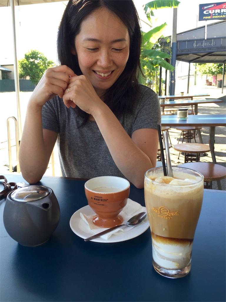 ブリスベンで念願の朝カフェ