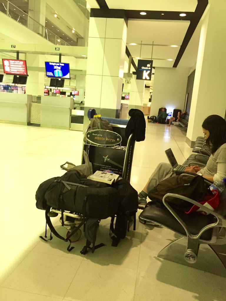 シドニー 空港泊