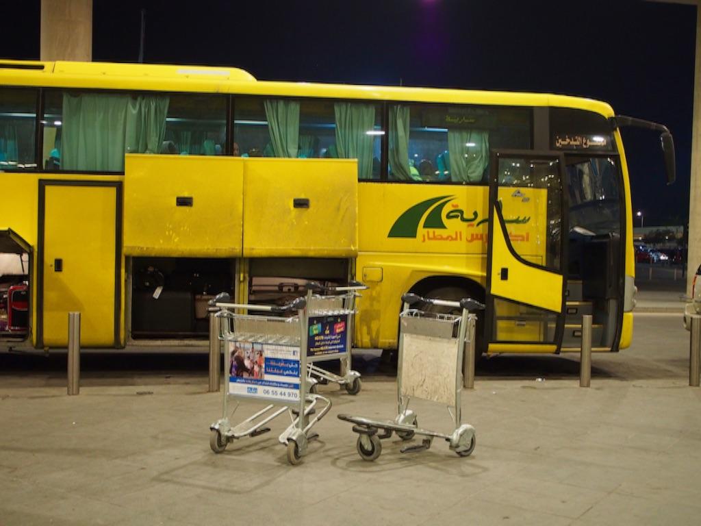アンマン 空港 バス