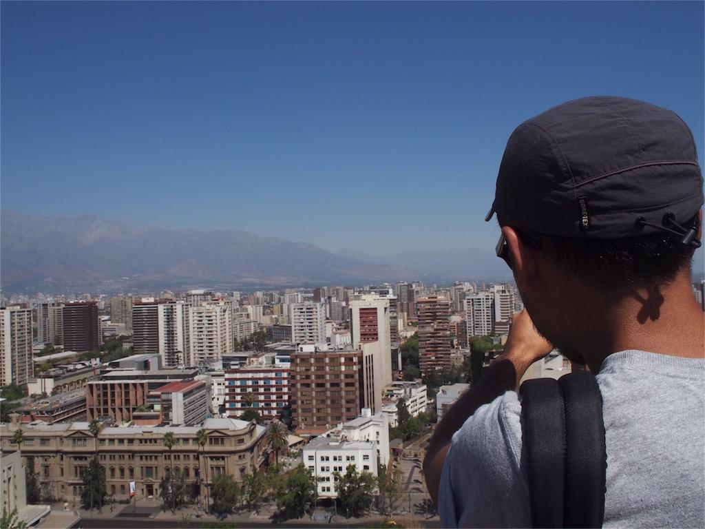 サンタルシアの丘からの眺め