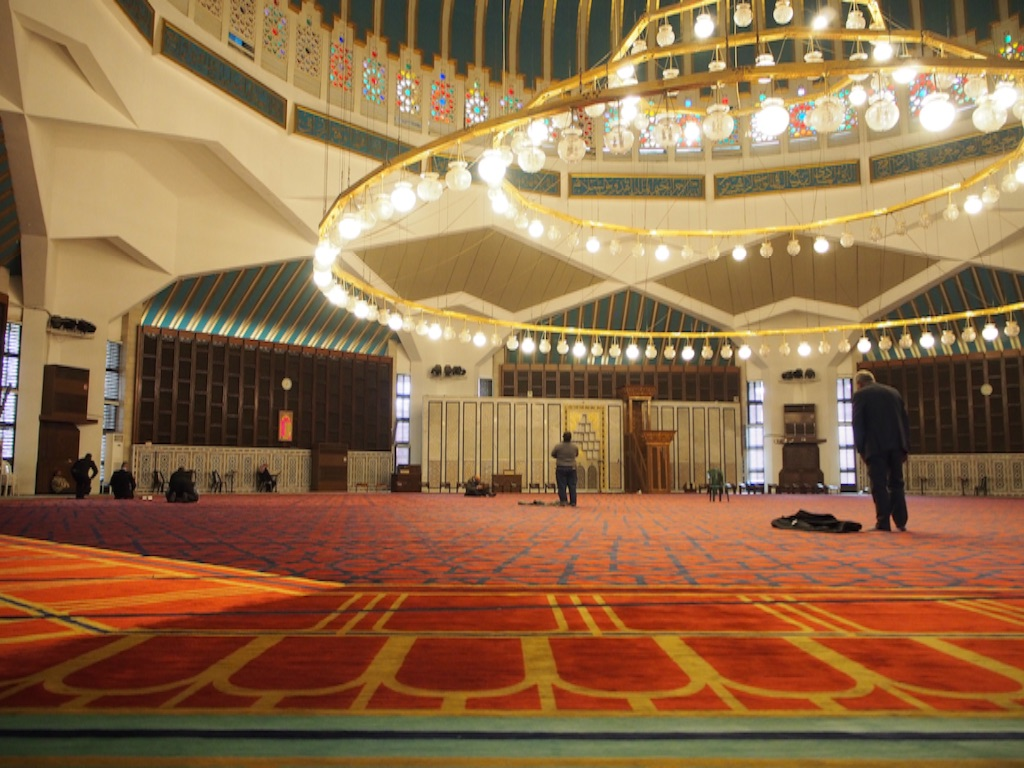 モスクの中の様子