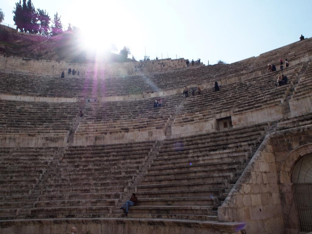 ローマ劇場の様子