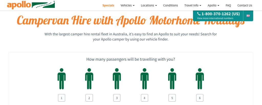 Apollo社のホームページ