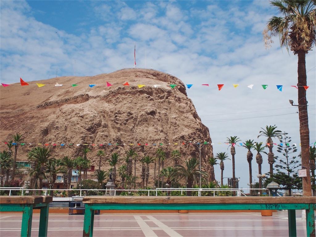 街のどこからでも観えるアリカ要塞