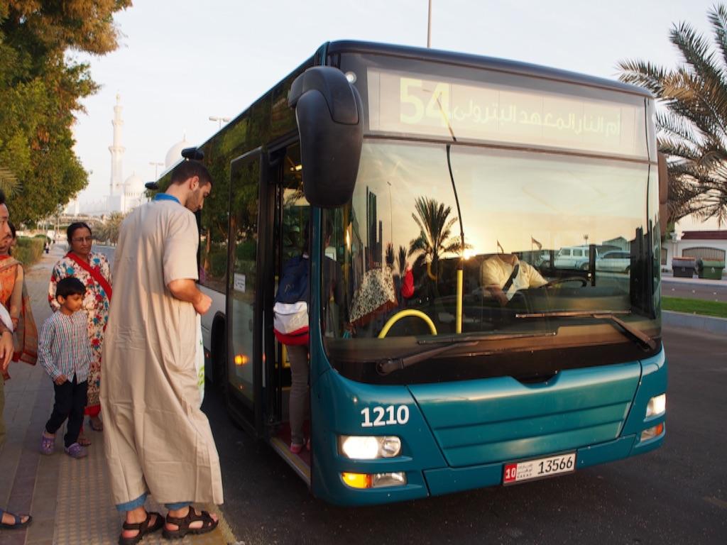 アブダビの公共バス