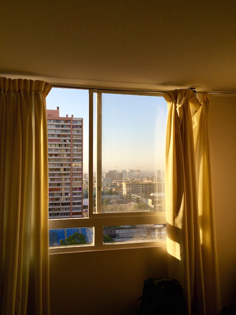 サンティアゴの宿 眺めが素晴らしい