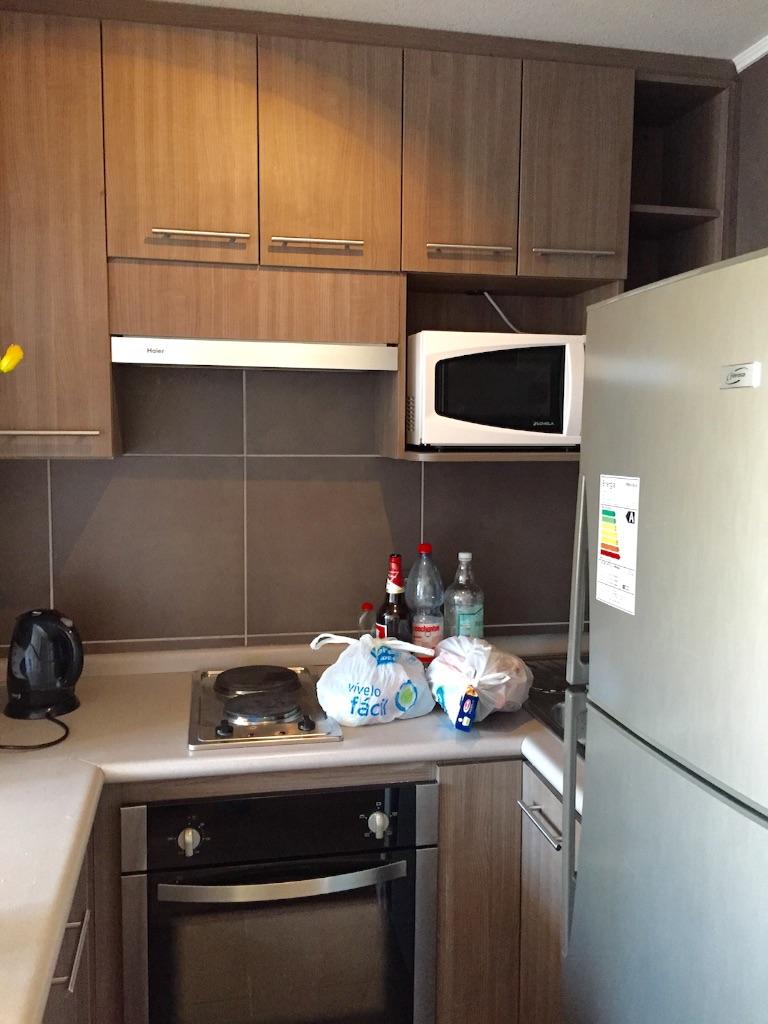 サンティアゴの宿 マンスリーマンション並みのキッチン