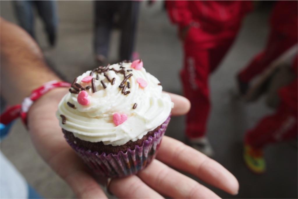 かわいいカップケーキをお持ち帰り♡