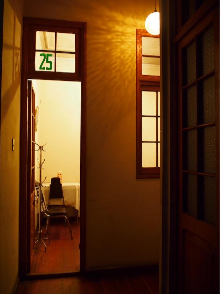 ボリビア ラパスの宿 部屋への入り口