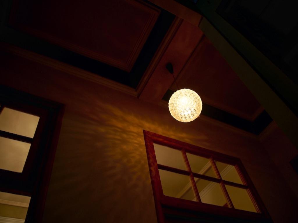 ボリビア おしゃれな照明にびっくり