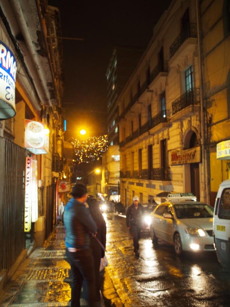 ボリビア ラパス 夜は怖い