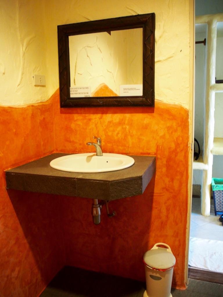 タオ島 シャワールームの洗面台