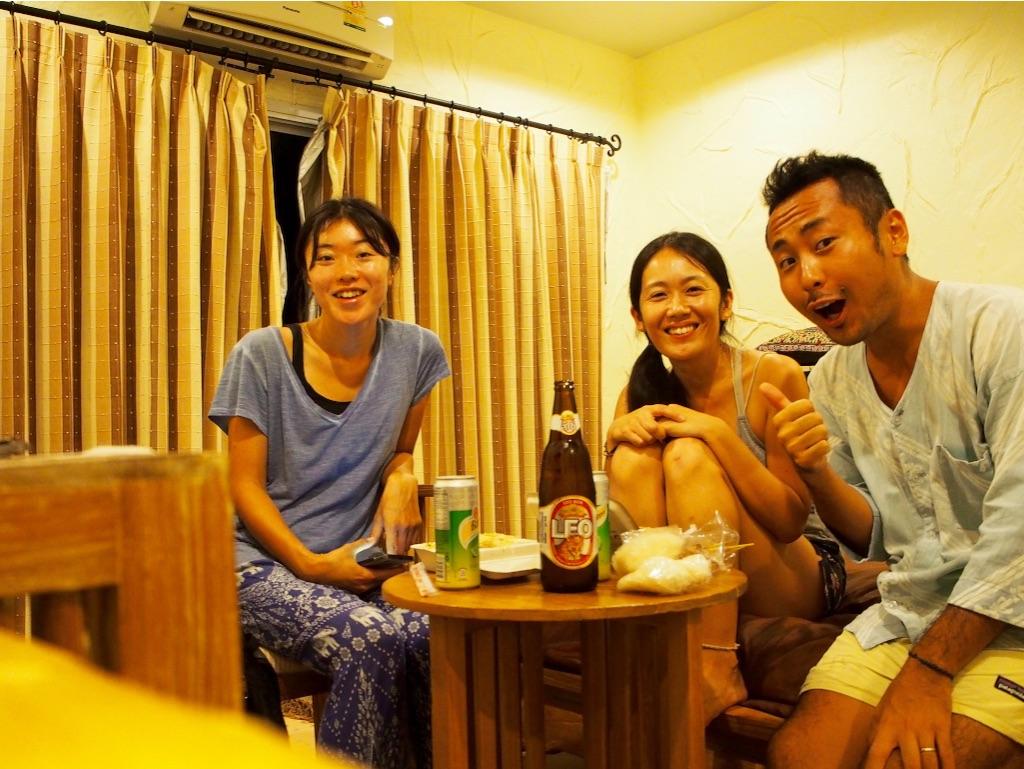 タオ島 photowiseさんと晩酌