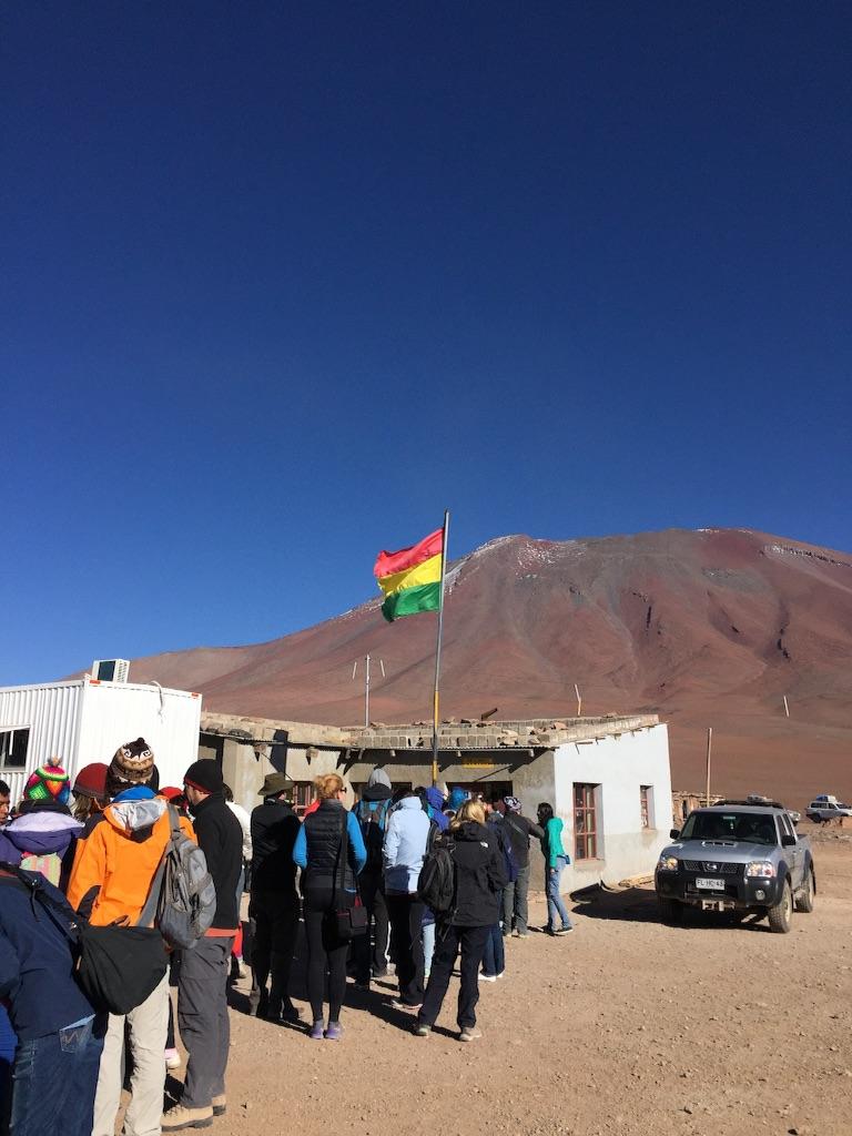 いよいよボリビア出国