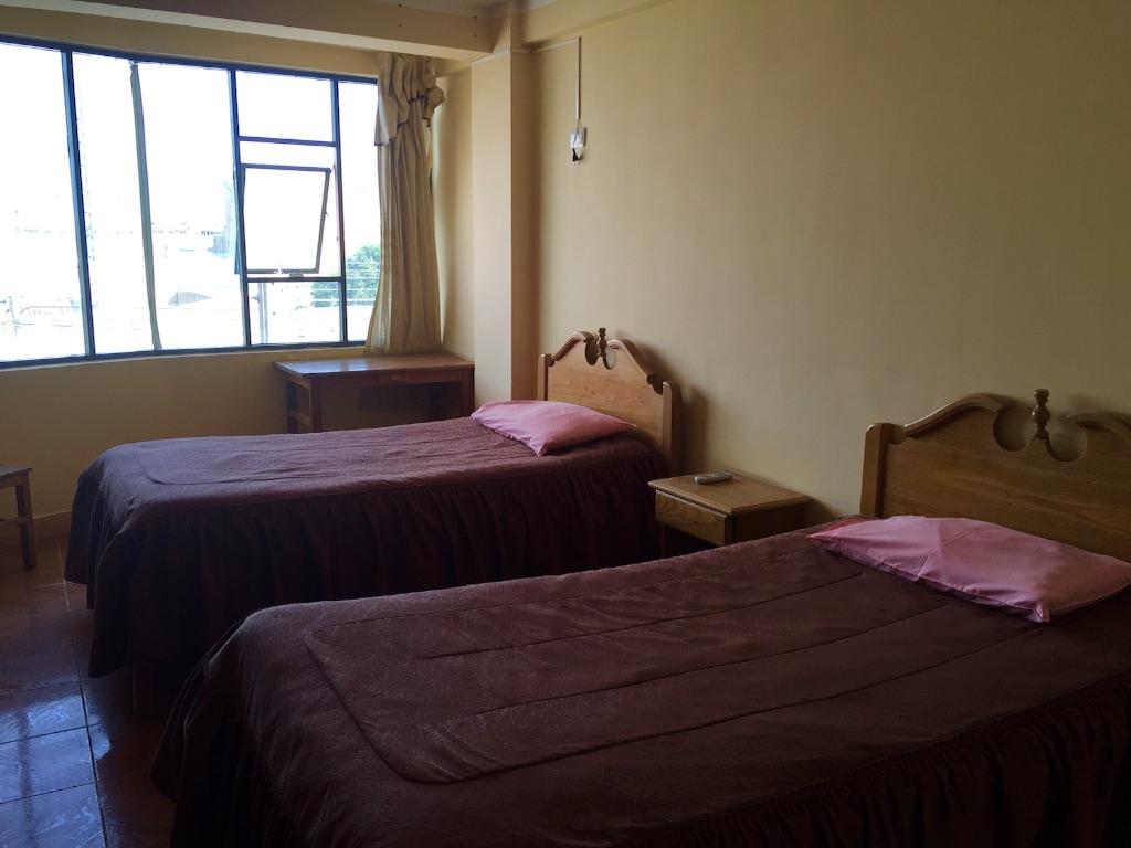 ウユニの宿 シンプルなツインルーム
