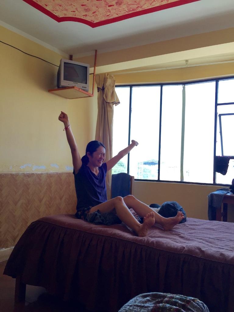 ウユニの宿 テレビ付き