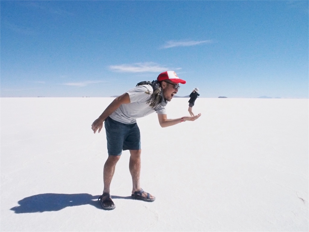 ウユニ塩湖にも寄り道