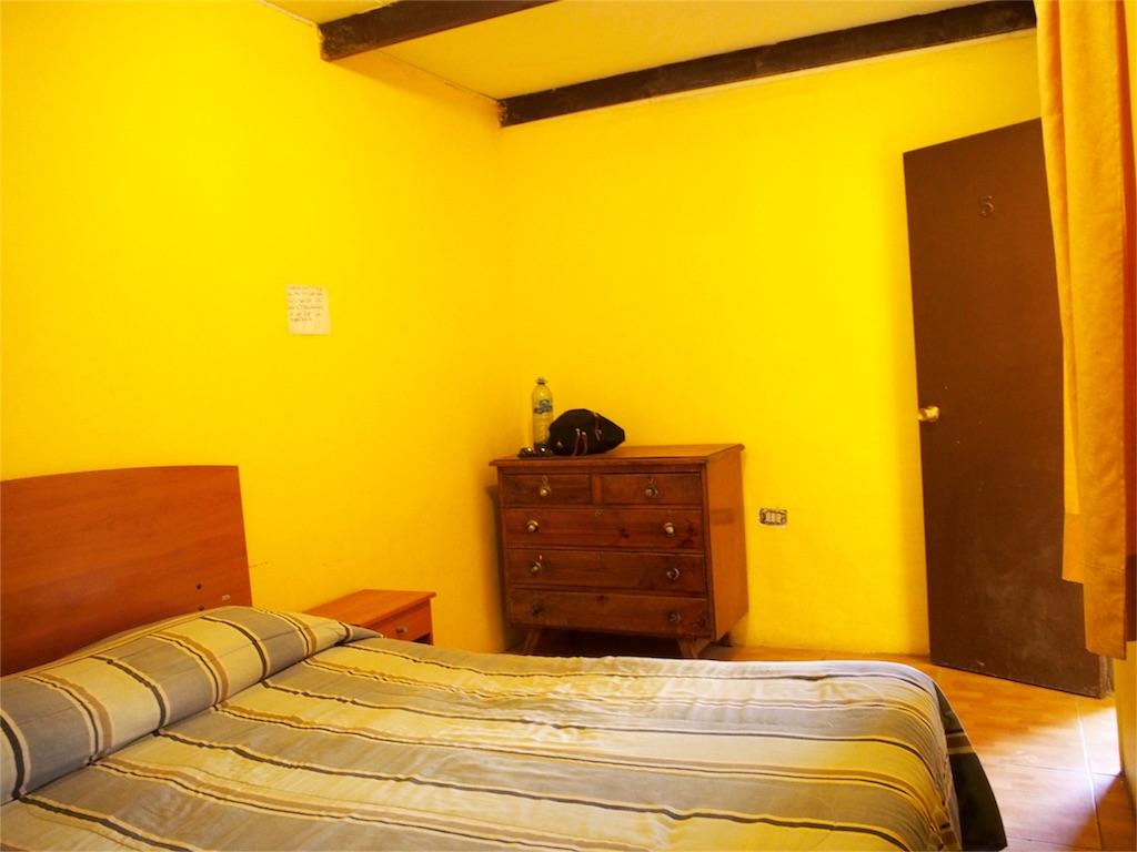 チリ アタカマの快適宿の室内