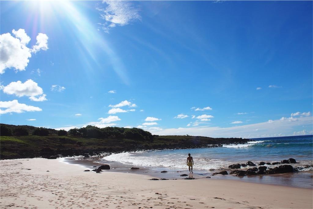 リゾートな雰囲気のアナケナビーチその2