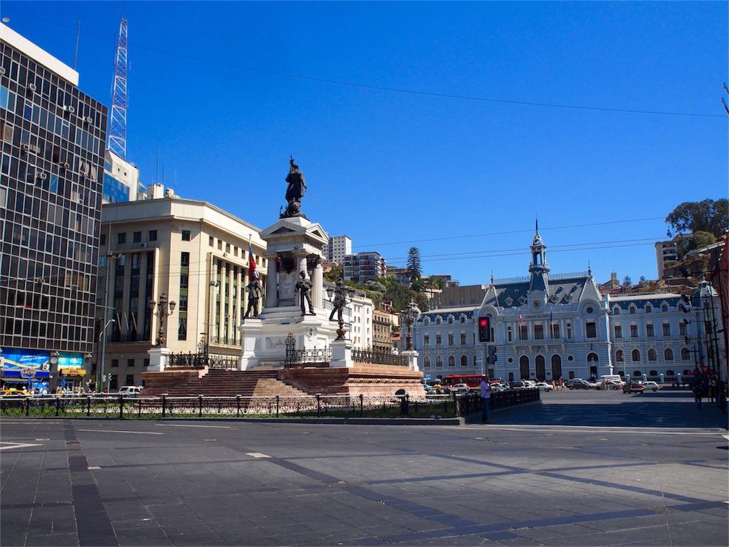 世界遺産バルパライソ Plaza Sotomayor