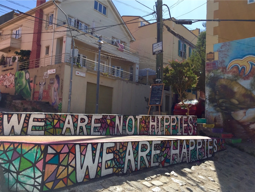 we are not hippies,we are happies