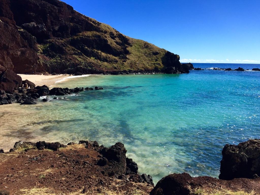 イースター島の穴場ビーチ オバべビーチ