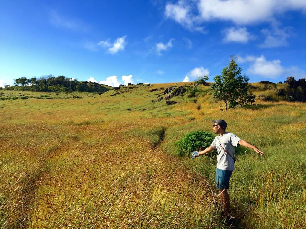 オロンゴオロンゴ火山湖までの道のり