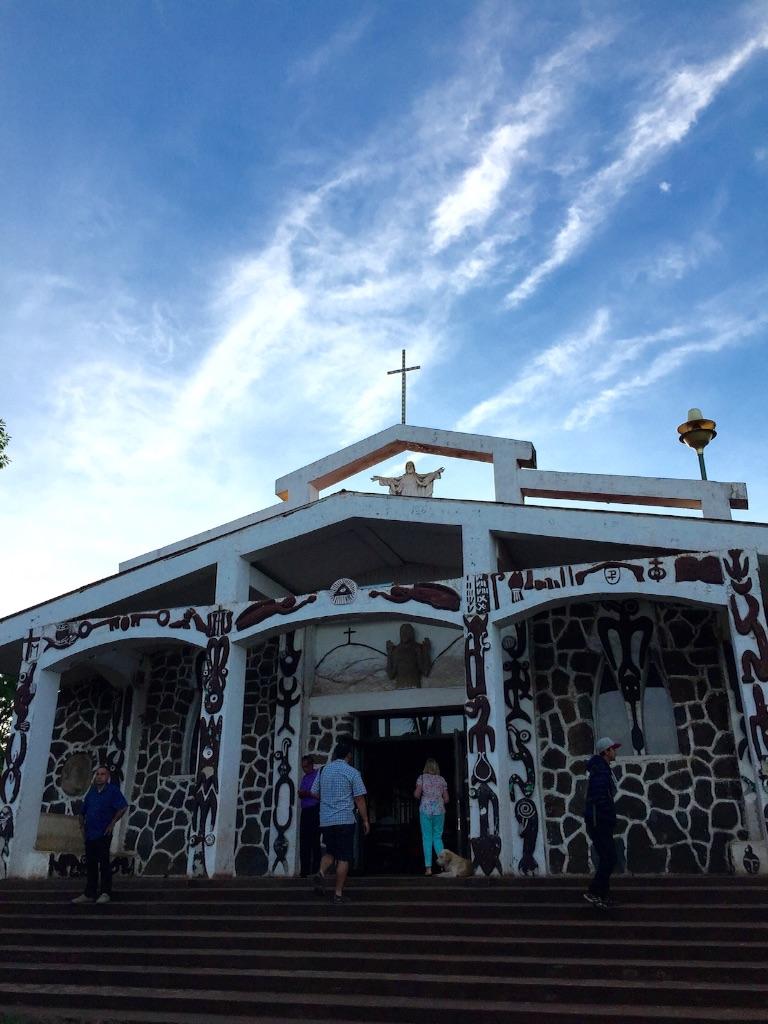 イースター島の教会