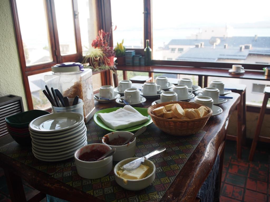 こちらの宿の朝食もおしゃれでした