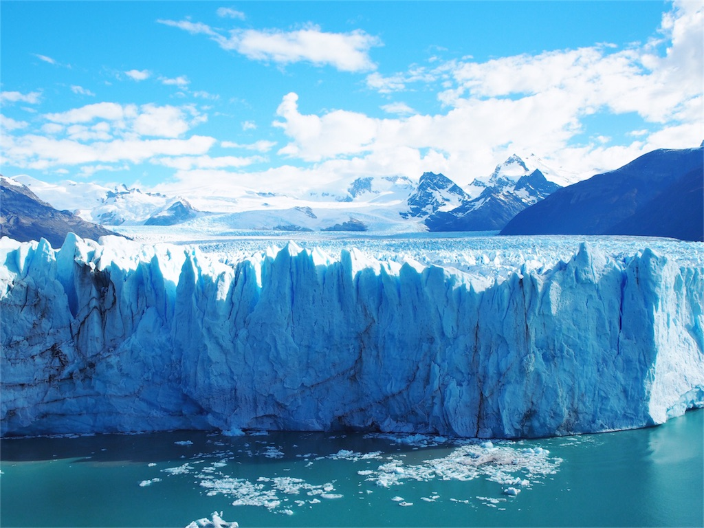 迫力のペリトモレノ氷河