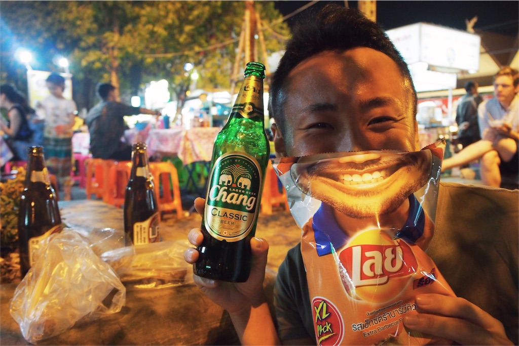 タイのLaysはこんな写真が撮れます(笑)