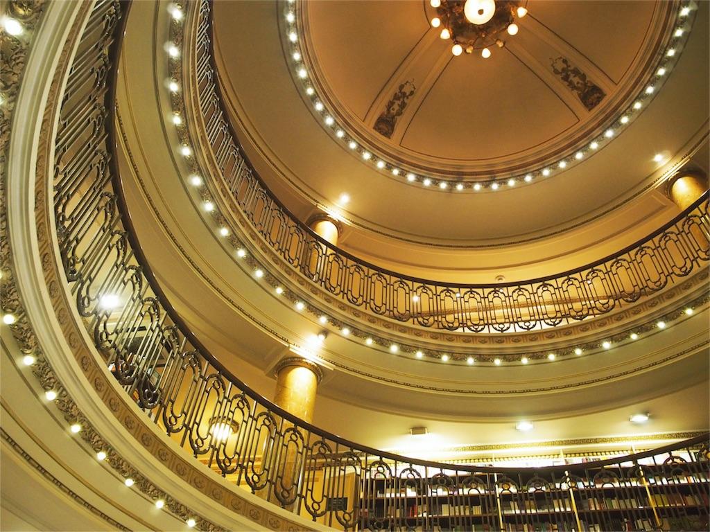 世界の美しい書店ランキング2位エル アテネオ グランド スプレンディド その②