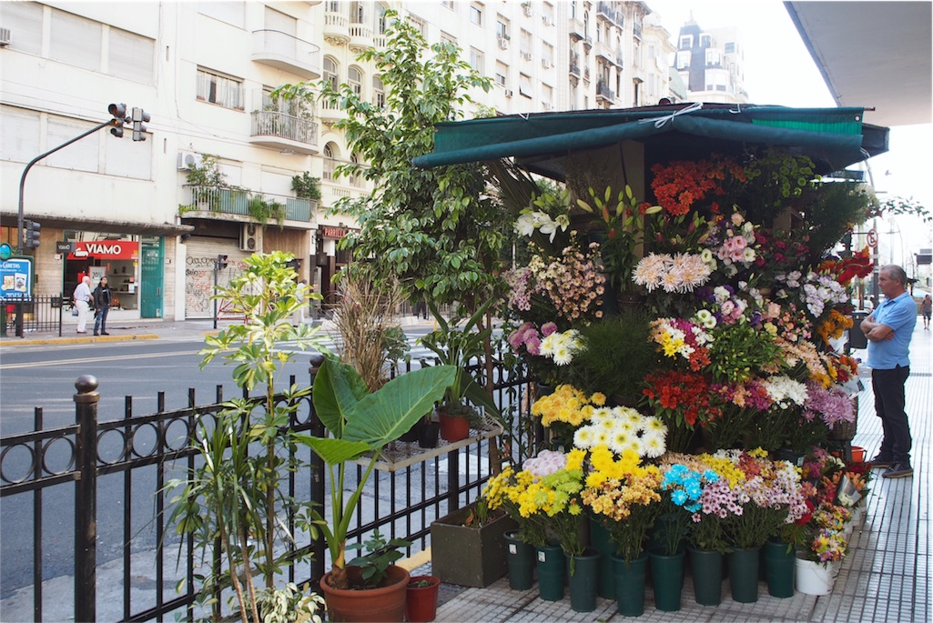 街で見つけたかわいいかわいいお花屋さん