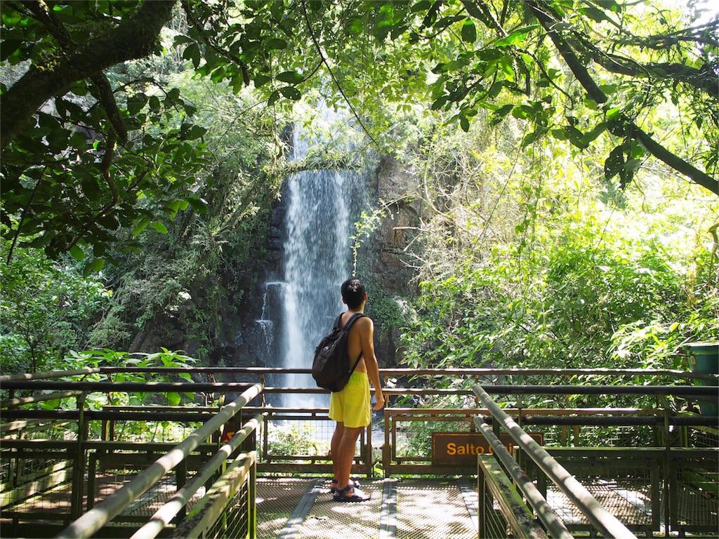私が1番好きな滝Salto Chico
