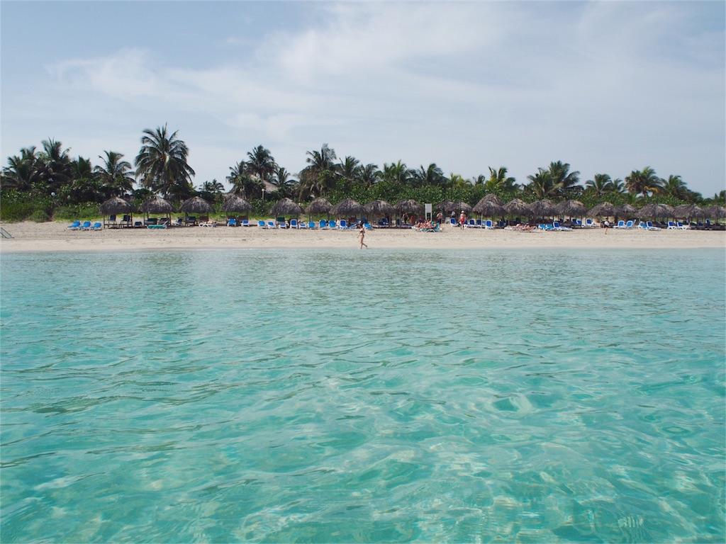 Breezes Varaderoのプライベートビーチ その②