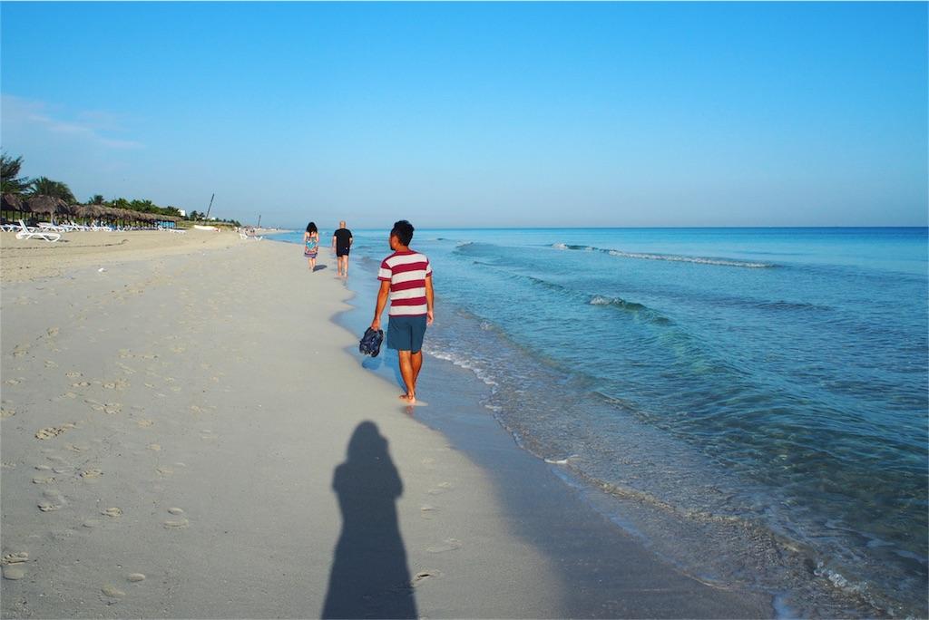 Breezes Varaderoのプライベートビーチ その①