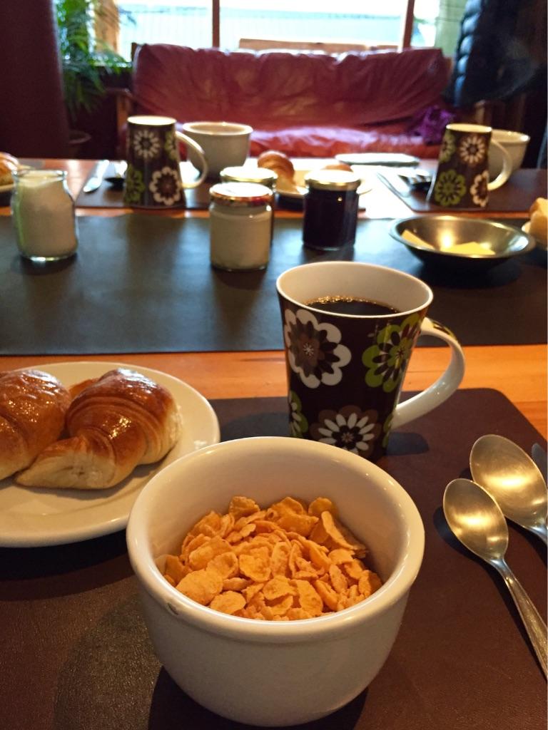 はじめの宿の朝食