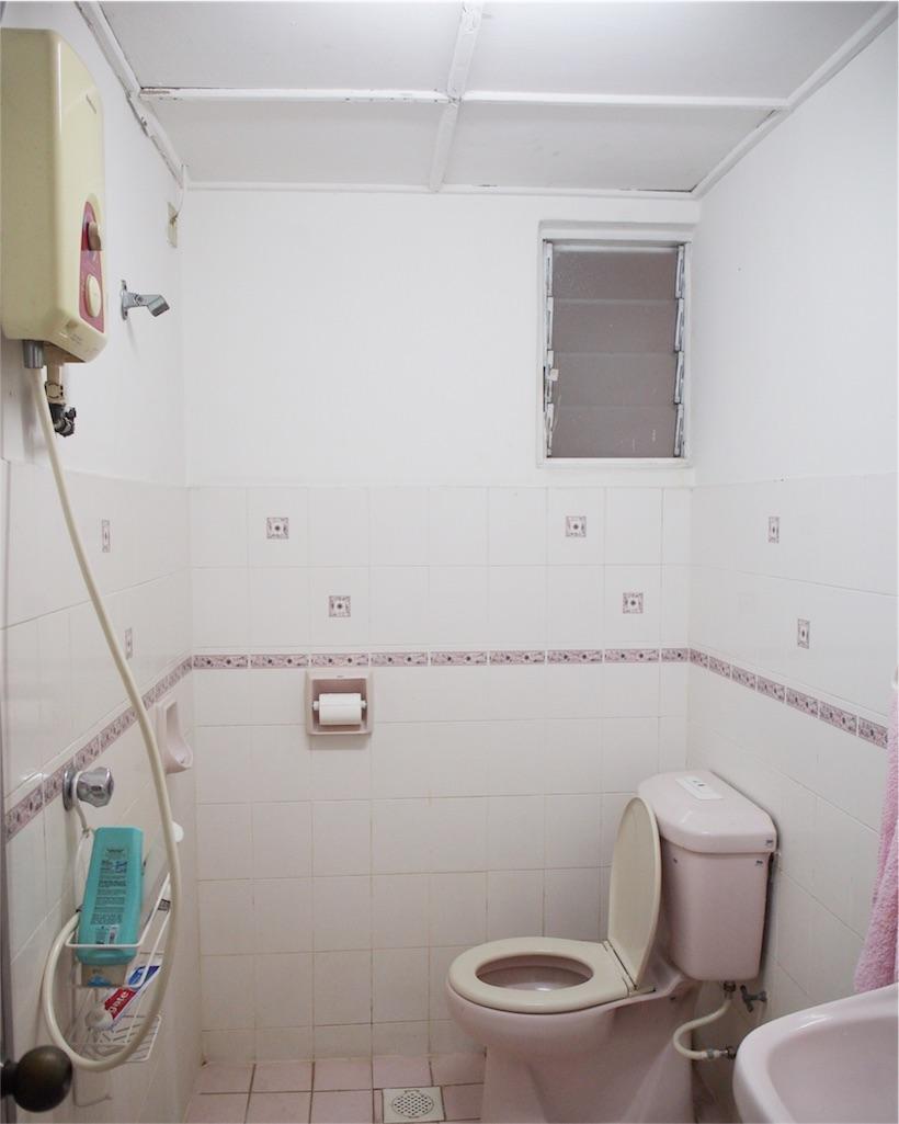 トイレシャワー室の様子