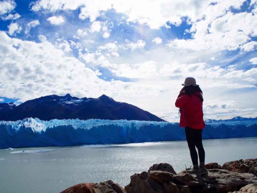 ロスグラシアレス国立公園 ペリトモレノ氷河