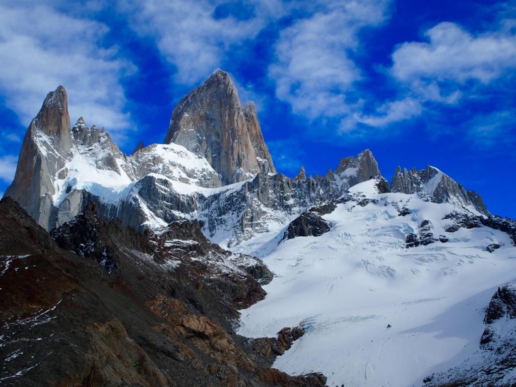 フィッツロイはとても登れる山ではない