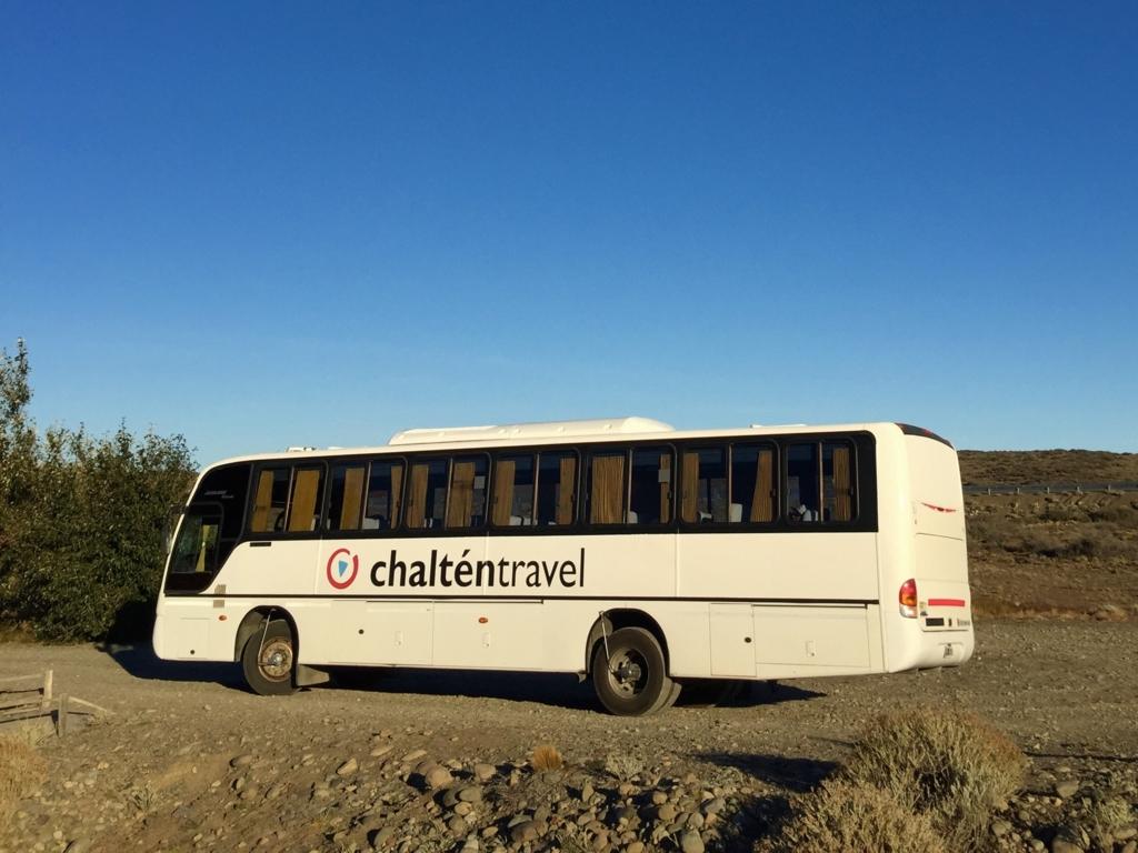 南米 パタゴニアのバス Chalten travel