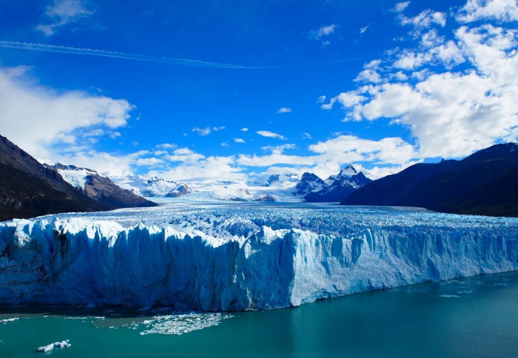 パタゴニアの絶景 ペリトモレノ氷河