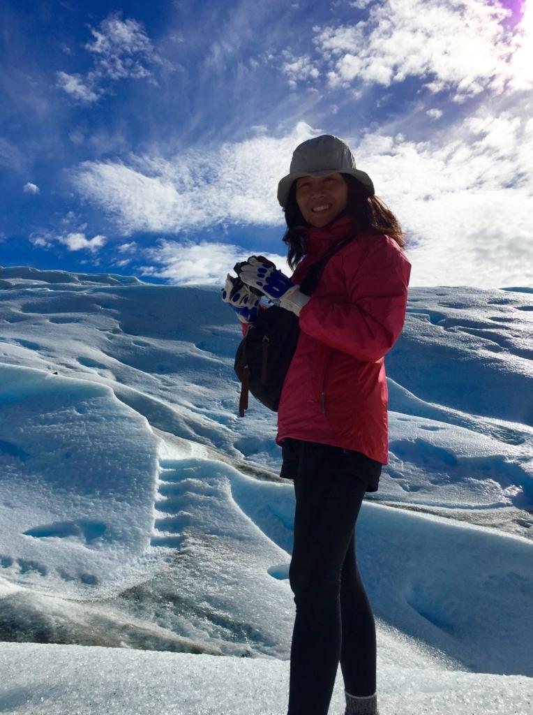 ペリトモレノ氷河トレッキングスタート