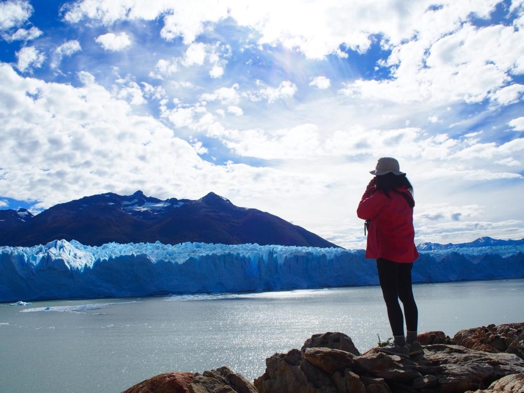 氷河の眺めが最高サイコー