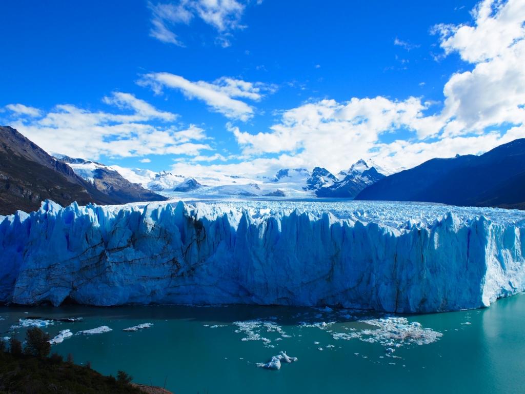 氷河がかっこいい