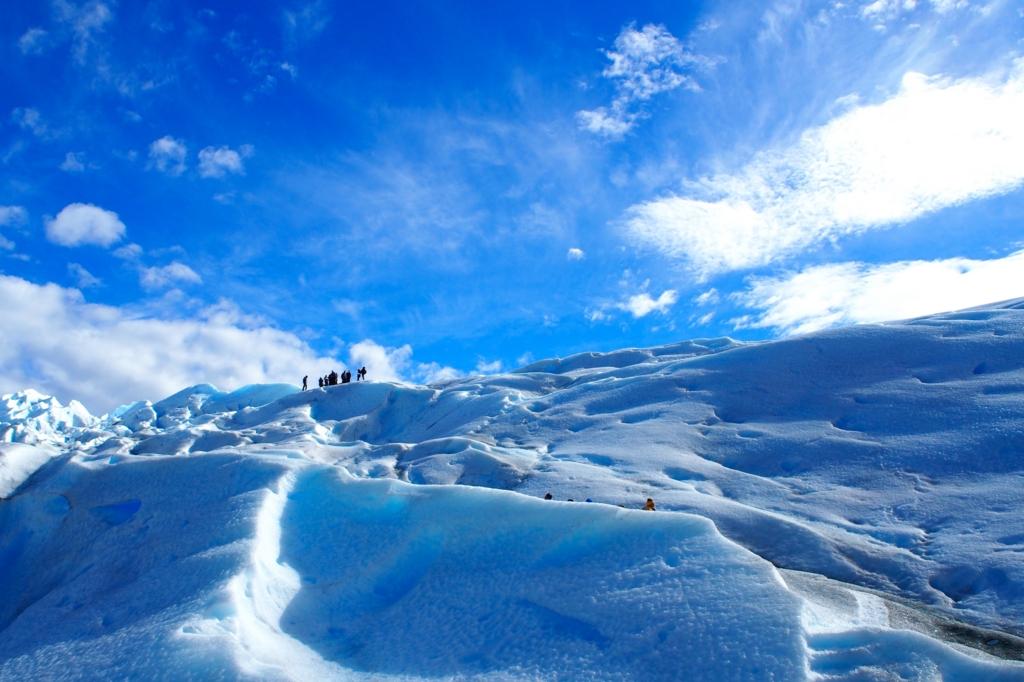 氷河トレッキングスタート
